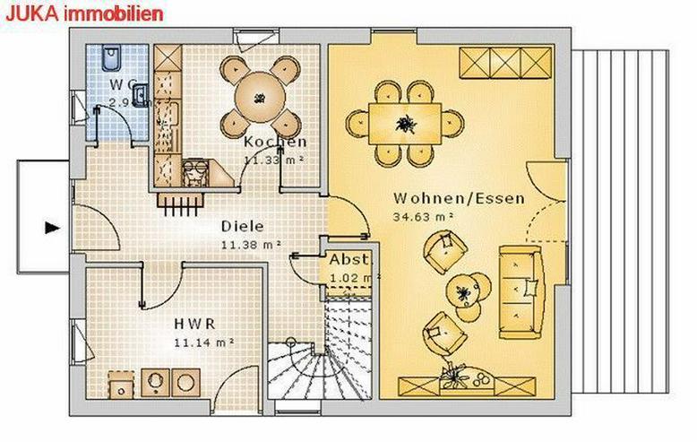 Bild 2: Satteldachhaus als ENERGIE-Plus-Speicher-HAUS ab 925,- EUR