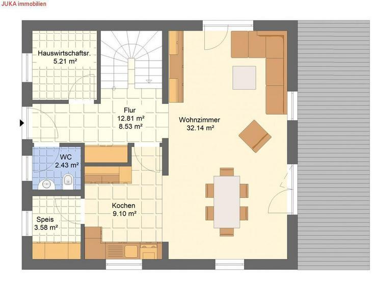 """Bild 2: Satteldachhaus Energie-""""Speicher-Plus""""-Haus 130 in KFW 55, Mietkauf/Basis ab 724,-EUR mt."""