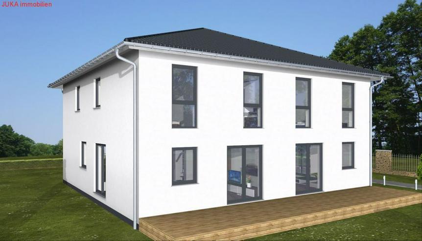 """Doppelhaushälfte: Energie-""""Speicher-Plus""""-Haus .125 qm Wfl. in KFW 55, Mietkauf/Basis ab ..."""