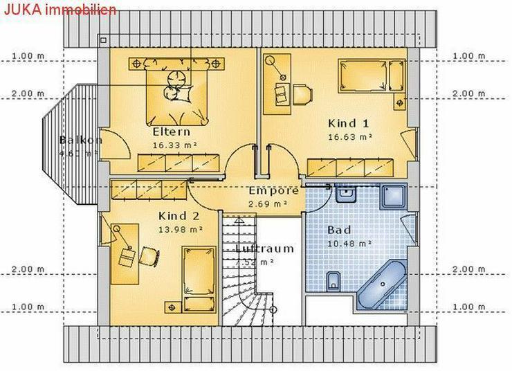 """Bild 3: Satteldachhaus: Energie-""""Speicher-Plus""""-Haus 100 in KFW 55, Mietkauf/Basis ab 742,-EUR mt."""
