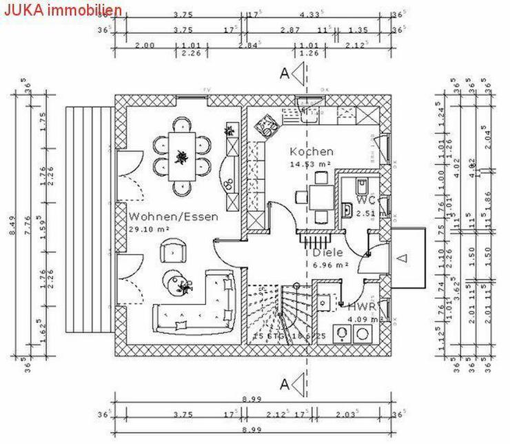 """Bild 5: Satteldach- Energie """"Speicher"""" Haus 150 in KFW 55, Mietkauf/Basis ab 639,50,-EUR mt."""