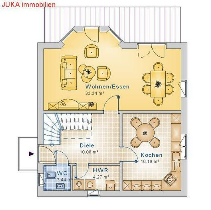 """Bild 6: Satteldach- Energie """"Speicher"""" Haus 120 in KFW 55, Mietkauf/Basis ab 845,-EUR mt."""