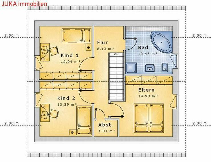 """Bild 6: Satteldachhaus: Energie-""""Speicher-Plus""""-Haus 150 in KFW 55, Mietkauf/Basis ab 676,-EUR mt."""