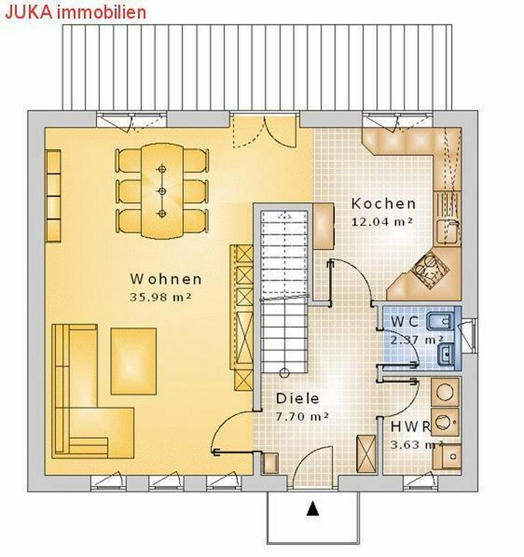 """Bild 2: Satteldachhaus: Energie-""""Speicher-Plus""""-Haus 150 in KFW 55, Mietkauf/Basis ab 676,-EUR mt."""