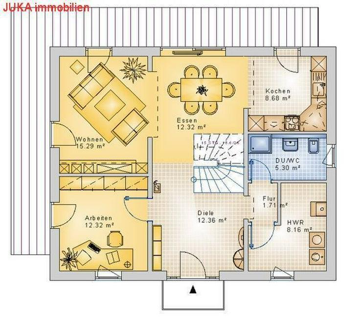 Bild 3: Toscanahaus als ENERGIE-PLUS-Speicher-HAUS ab1314.-EUR