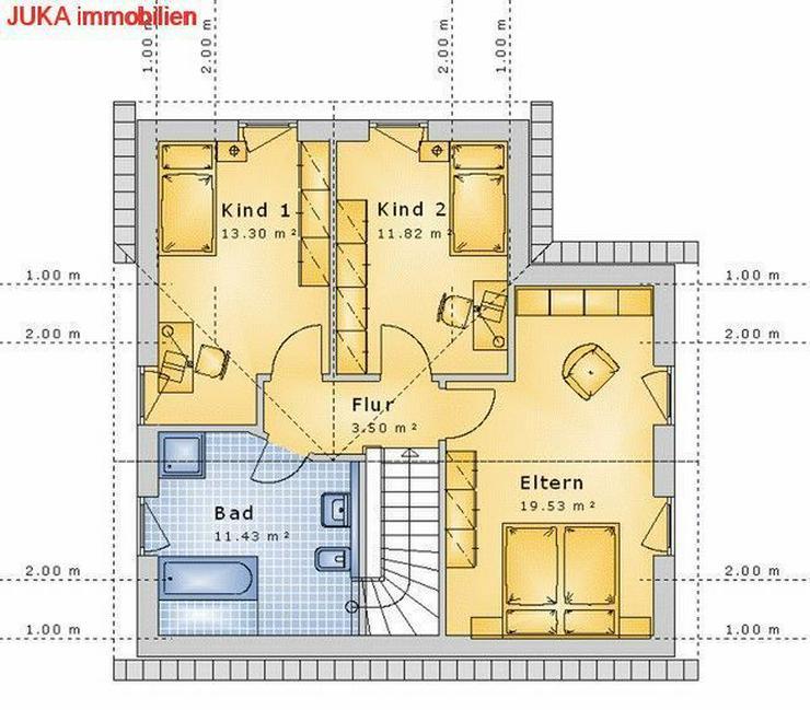Bild 3: Satteldachhaus als ENERGIE-Plus-Speicher-HAUS ab 1358,- EUR