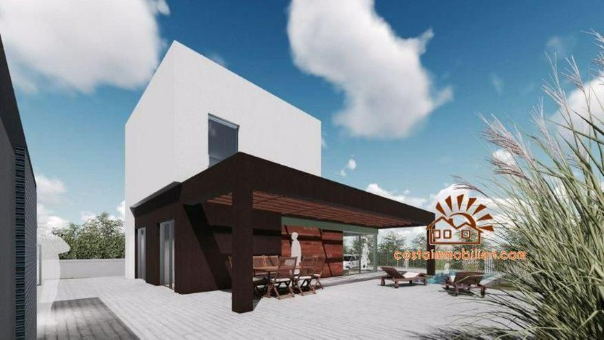 Neubauvilla mit Meerblick in Polop de la Marina-Benidorm/Alicante - Haus kaufen - Bild 1