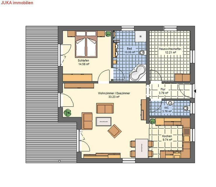 Barrierefreier Bungalow in KFW 55 - Haus kaufen - Bild 2