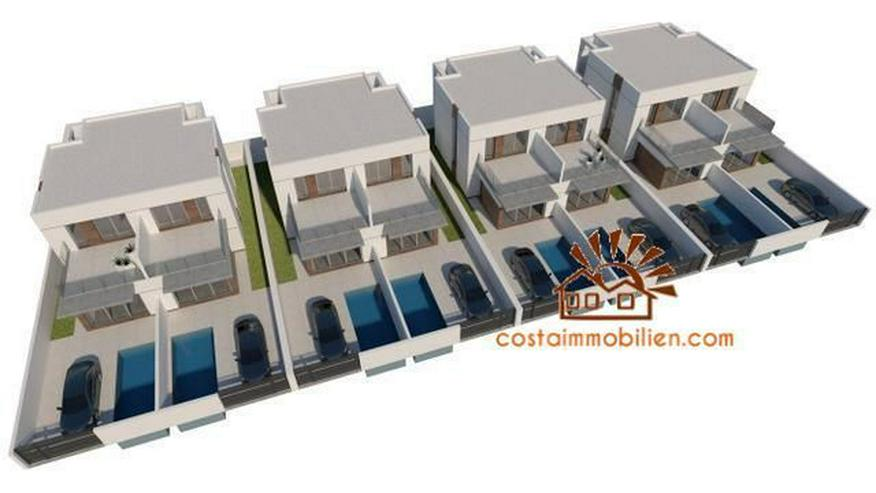 Bild 5: Neubau-Reihenhäuser in Daya Vieja-Alicante