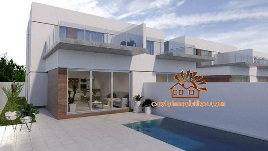 Neubau-Reihenhäuser in Daya Vieja-Alicante - Haus kaufen - Bild 1
