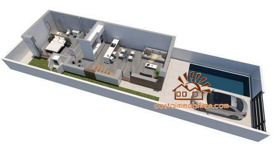 Bild 3: Neubau-Reihenhäuser in Daya Vieja-Alicante