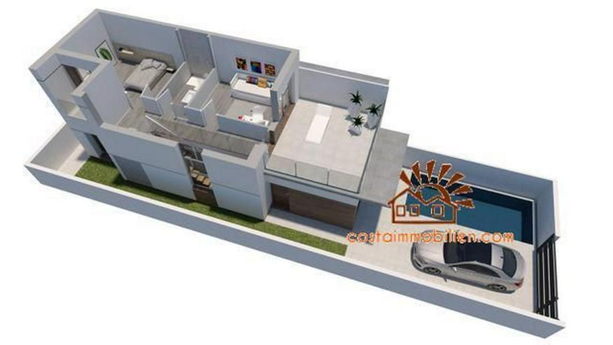 Bild 4: Neubau-Reihenhäuser in Daya Vieja-Alicante