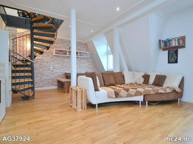 Bild 6: Geschmackvoll möblierte 3-Zimmer-Maisonettewohnung mit WLAN und Balkon in St. Johannis