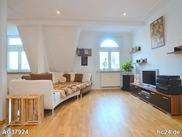 Bild 5: Geschmackvoll möblierte 3-Zimmer-Maisonettewohnung mit WLAN und Balkon in St. Johannis