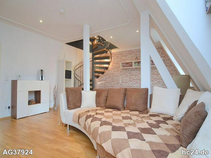 Geschmackvoll möblierte 3-Zimmer-Maisonettewohnung mit WLAN und Balkon in St. Johannis - Wohnen auf Zeit - Bild 1