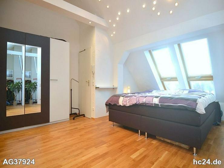 Bild 2: Geschmackvoll möblierte 3-Zimmer-Maisonettewohnung mit WLAN und Balkon in St. Johannis
