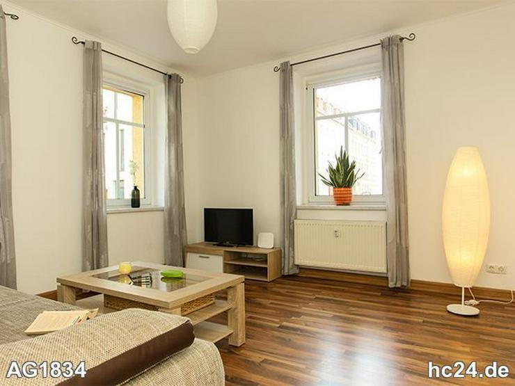 * Wohnen auf Zeit in Leipzig Lindenau + INTERNET + möbliertes Apartment - Wohnen auf Zeit - Bild 1