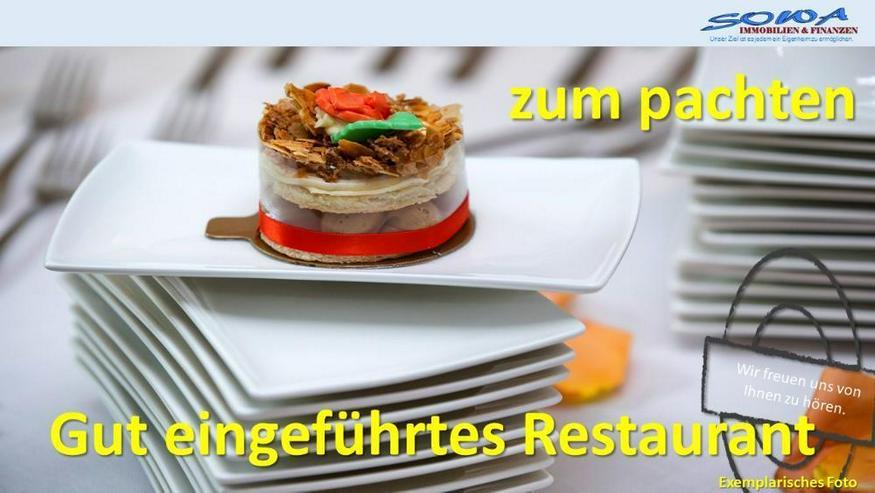 Neuzugang! Gut eingeführtes Restaurant in Neuburg zu verpachten - Ihr Immobilienexperte i...