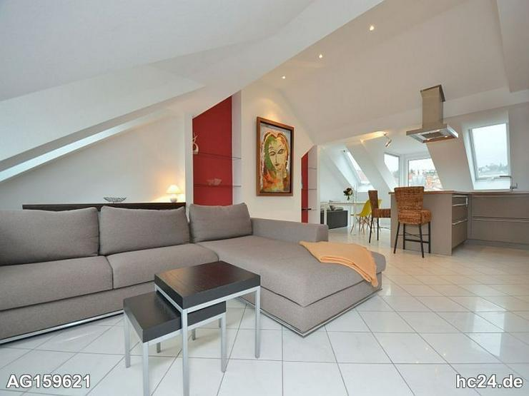 Wunderschöne Penthouse-Wohnung mit Balkon, Internet, Garage in S-West