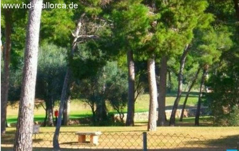 Bild 2: : großes Baugrundstück in der ersten Linie am Golfplatz