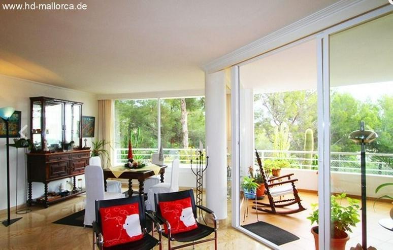 : Elegante Erdgeschosswohnung mit Garten in Bendinat