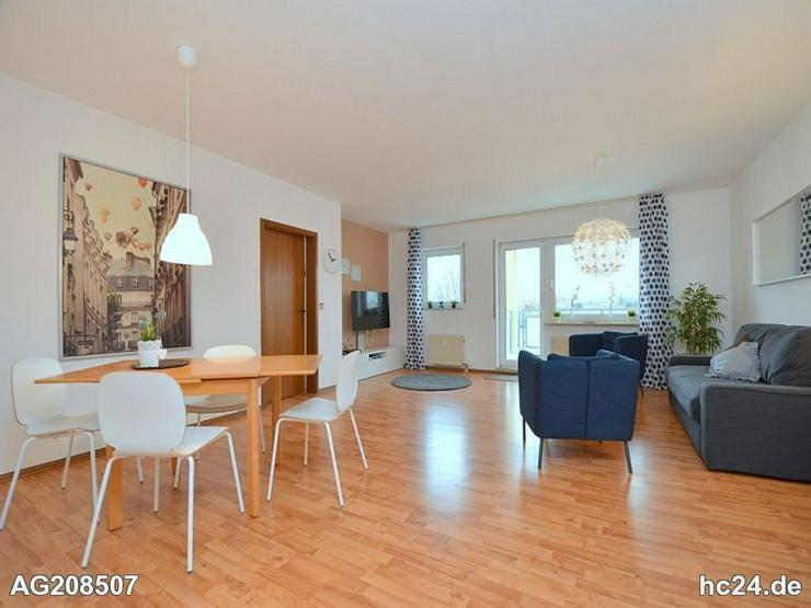 Modern möblierte, großzügige Wohnung mit zwei Balkonen in Salach bei Göppingen