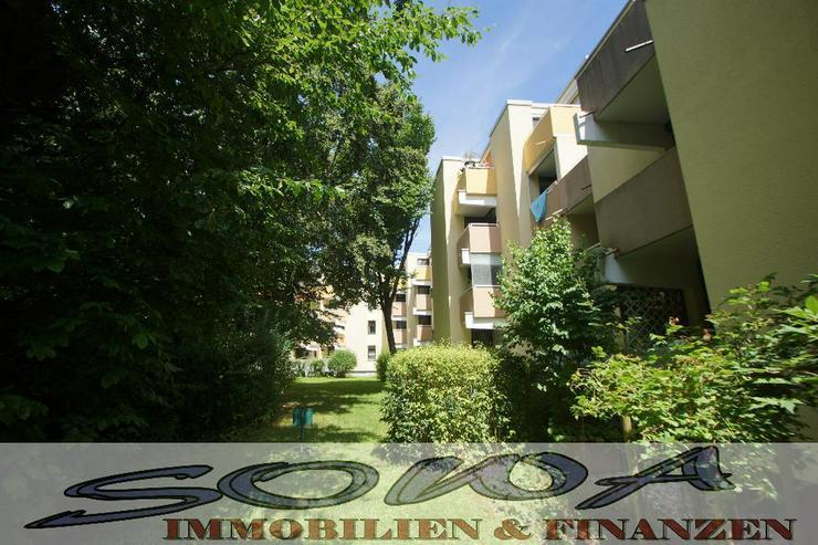 Kapitalanlage oder Eigenbedarf: 3,5 Zimmer Wohnung in Garching im EG mit 3 Balkone - Von I...