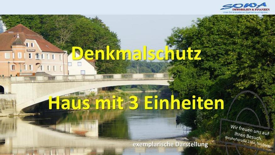Anlageobjekt! Stadt Neuburg - Haus mit 3 Einheiten - Ihr Immobilienpartner in der Region S...