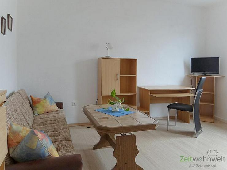 Bild 2: (EF0277_M) Ilmenau: Unterpörlitz, möblierte 2-Zimmer-Wohnung in der Ortsmitte, WLAN für...