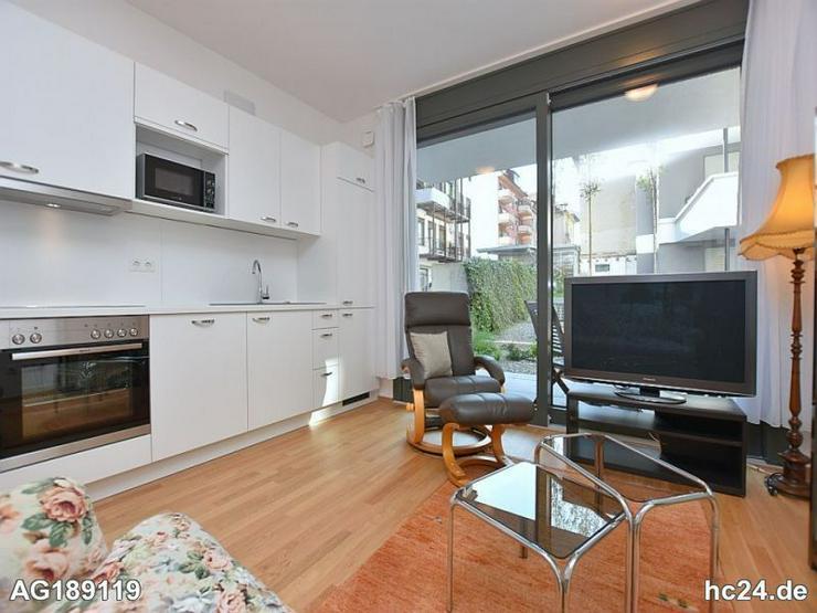 Voll möblierte Wohnung mit Terrasse und TG in Stuttgart Mitte