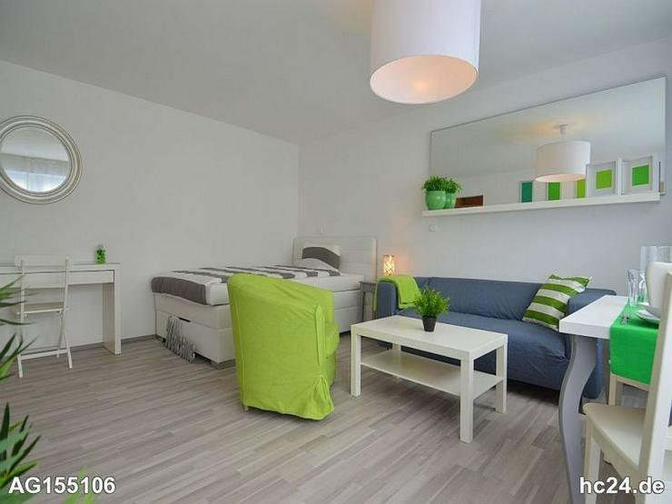 Modern möblierte 1-Zimmer Wohnung in Stuttgart Stammheim