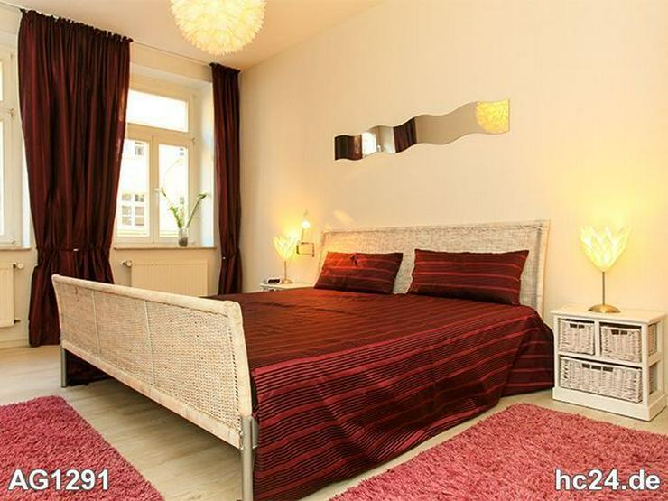 * LIEBEVOLL und modern möblierte Wohnung in Leipzig + BALKON + INTERNET