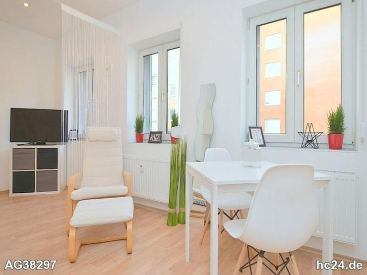 Erstbezug:Modern möbliertes 1-Zimmer-Apartment mit WLAN in Fürth/-Mitte