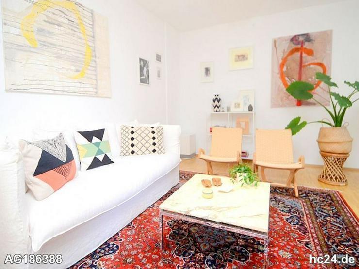 Möblierte 2-Zimmer Altbau Wohnung mit Waschmaschine und Internet in Wiesbaden