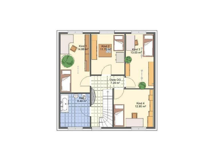 Bild 6: ***>Unser Angebot***Traumlage und moderne Stadtvilla - 4 Kinderzimmer<***