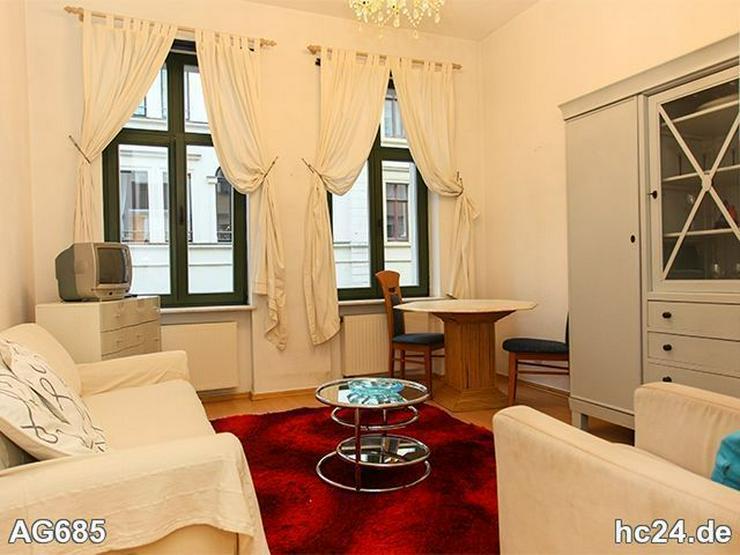 * ABSOLUT CITYNAH WOHNEN! + möblierte Wohnung in Leipzig + LAMINAT + nahe KULTURMEILE