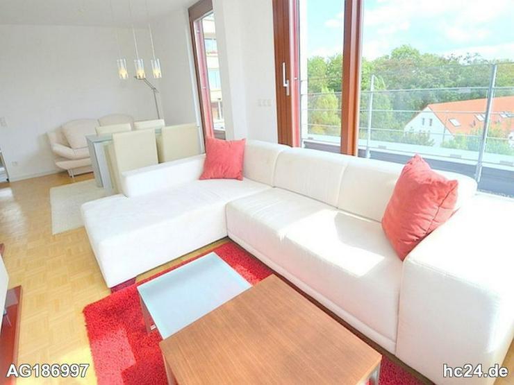 Edle möblierte 2 Zimmer Penthousewohnung in Mainz-Hartenberg