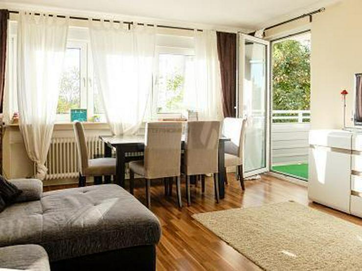 LICHTDURCHFLUTET MIT BALKON - Wohnung kaufen - Bild 1