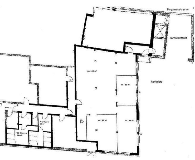 Bild 5: Büro oder Gewerbefläche/Werkstatt/Atelier direkt in der Wismarer Altstadt