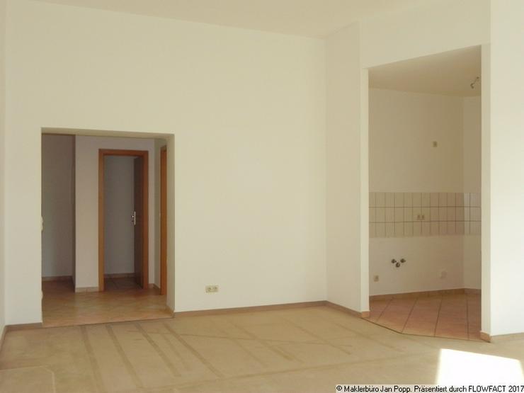 Bild 4: Offen gestaltete Zweizimmerwohnung in der Greizer Neustadt