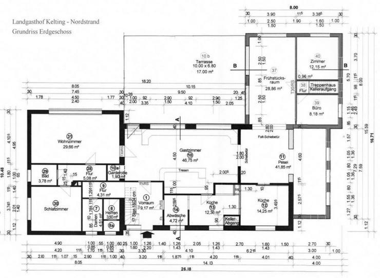 Bild 11: Landgasthaus, Restaurant mit Hotelzimmern und Betreiberwohnung