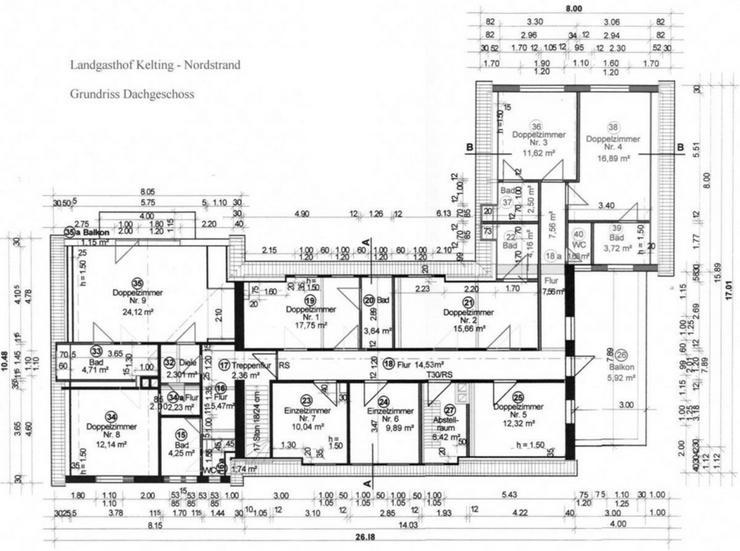 Bild 12: Landgasthaus, Restaurant mit Hotelzimmern und Betreiberwohnung