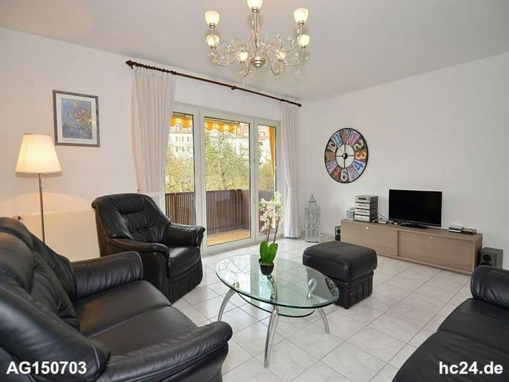 Sonnige, möblierte Wohnung mit Balkon in toller Halbhöhenlage in Stuttgart West - Wohnen auf Zeit - Bild 1