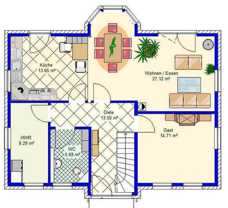 Bild 4: ***riesiges Einfamilienhaus umringt von vielen Seen***