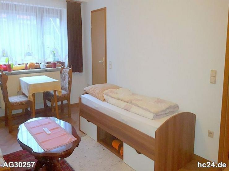 Für PendlerMöbliertes Zimmer ohne Küche mit eigenem Bad in ruhiger Lage in Röthe