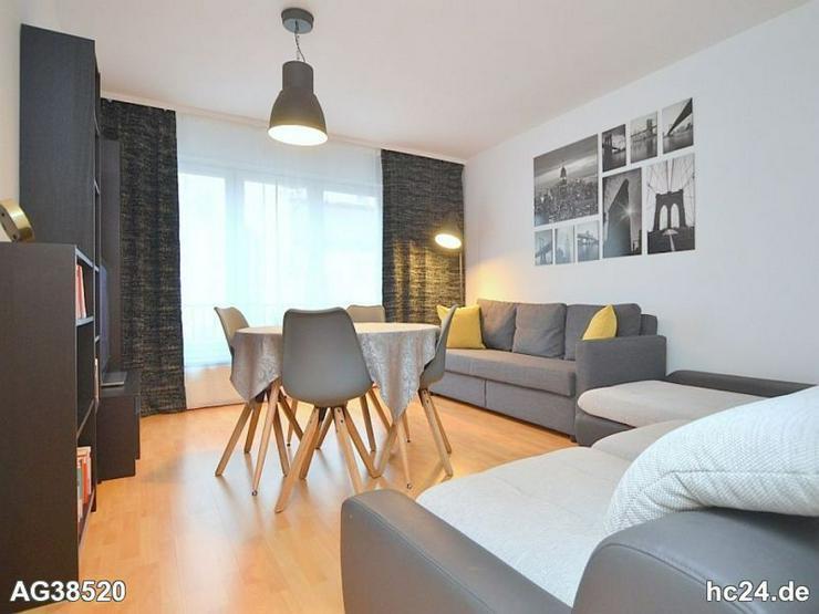 Modern möblierte 2-Zimmer-Wohnung mit WLAN, Balkon und Stellplatz in Nürnberg/-Steinbü