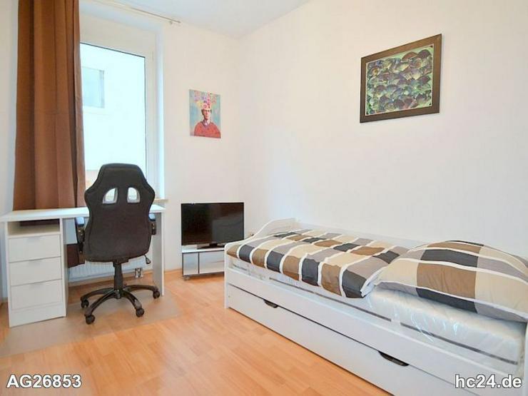 Modern möbliertes Zimmer mit WLAN und Balkon in der Nürnberger Innenstadt