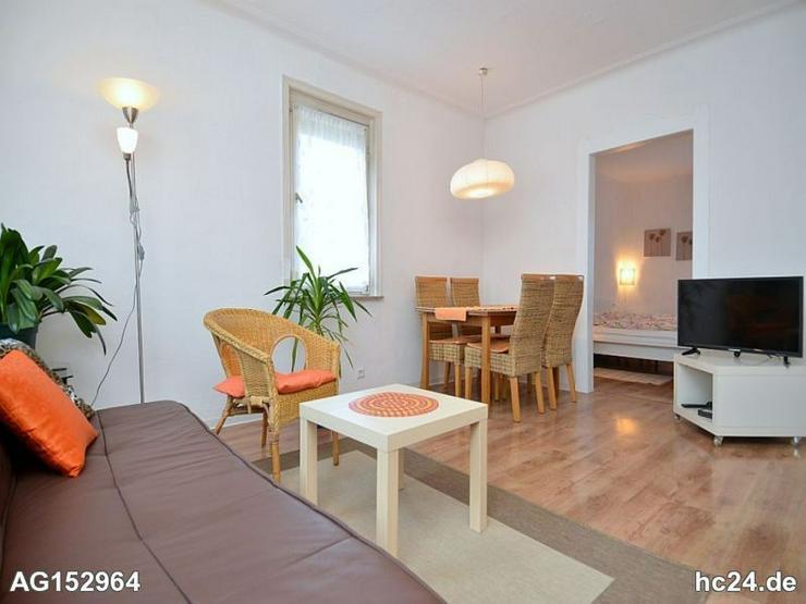 Voll möblierte 3-Zimmer Wohnung mit großem Garten zum Mitnutzen in Ludwigsburg