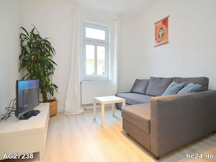 Modern möblierte 2-Zimmer-Wohnung mit WLAN in Nürnberg St.-Johannis