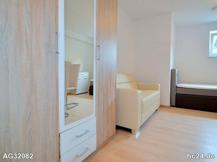 Modern möblierte 1-Zimmer-Wohnung im Nürnberger Süden in Schwarzenbruck